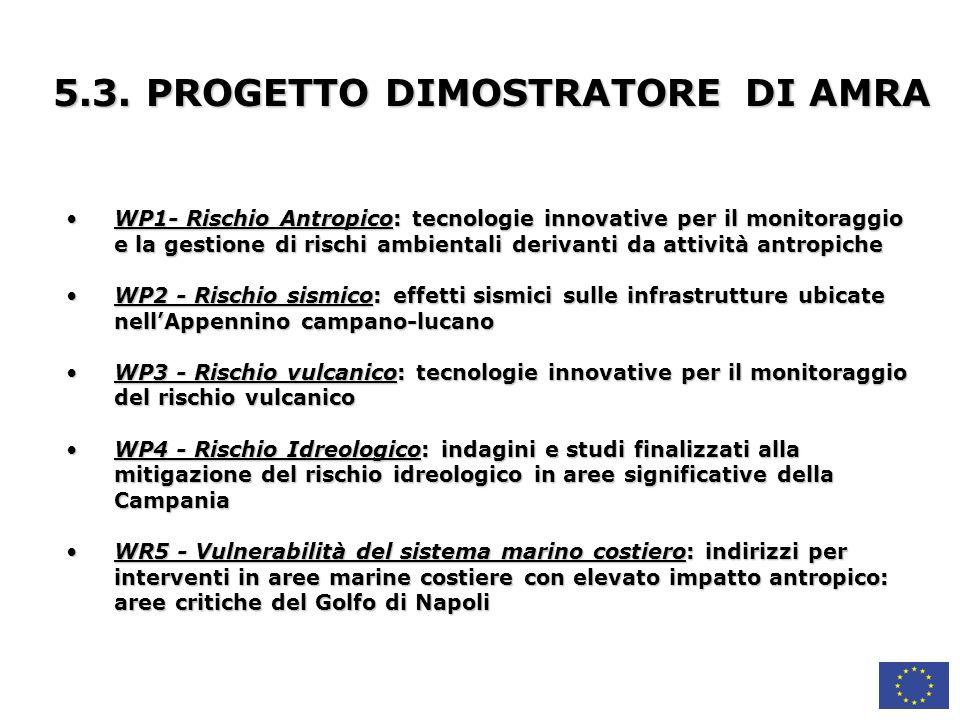 5.3. PROGETTO DIMOSTRATORE DI AMRA