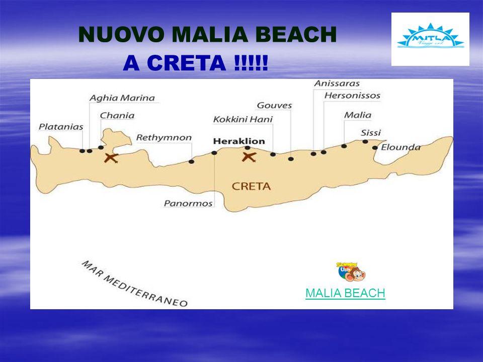 NUOVO MALIA BEACH A CRETA !!!!! MALIA BEACH