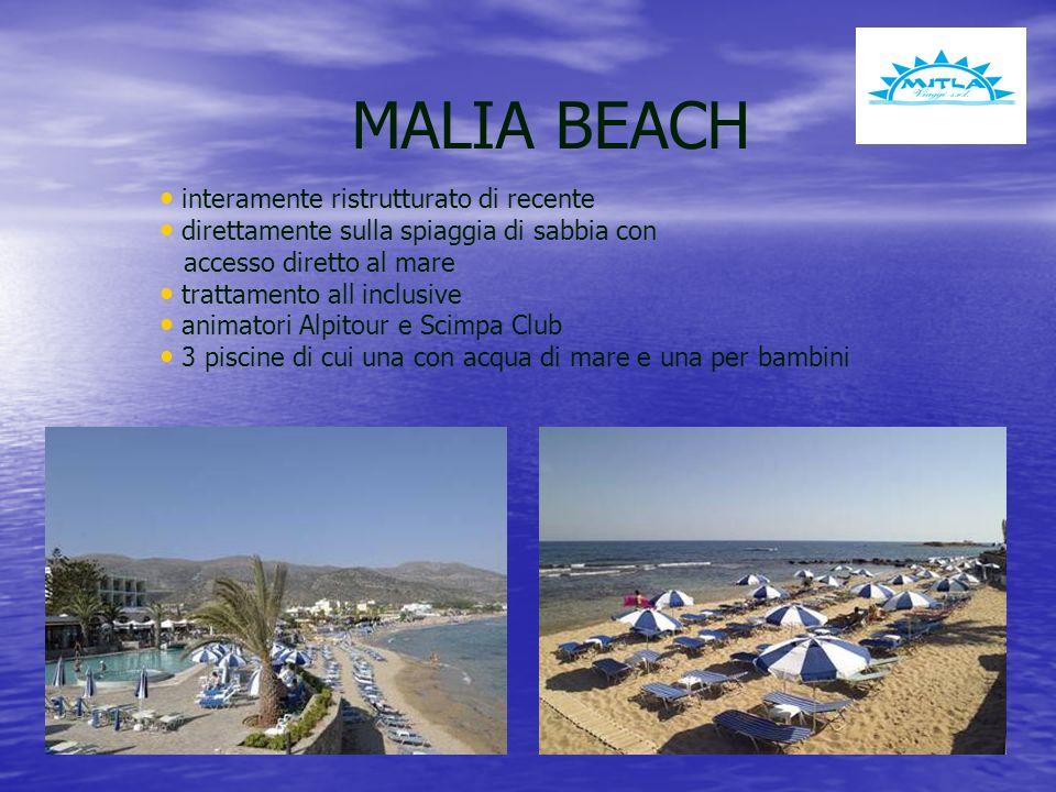 MALIA BEACH interamente ristrutturato di recente
