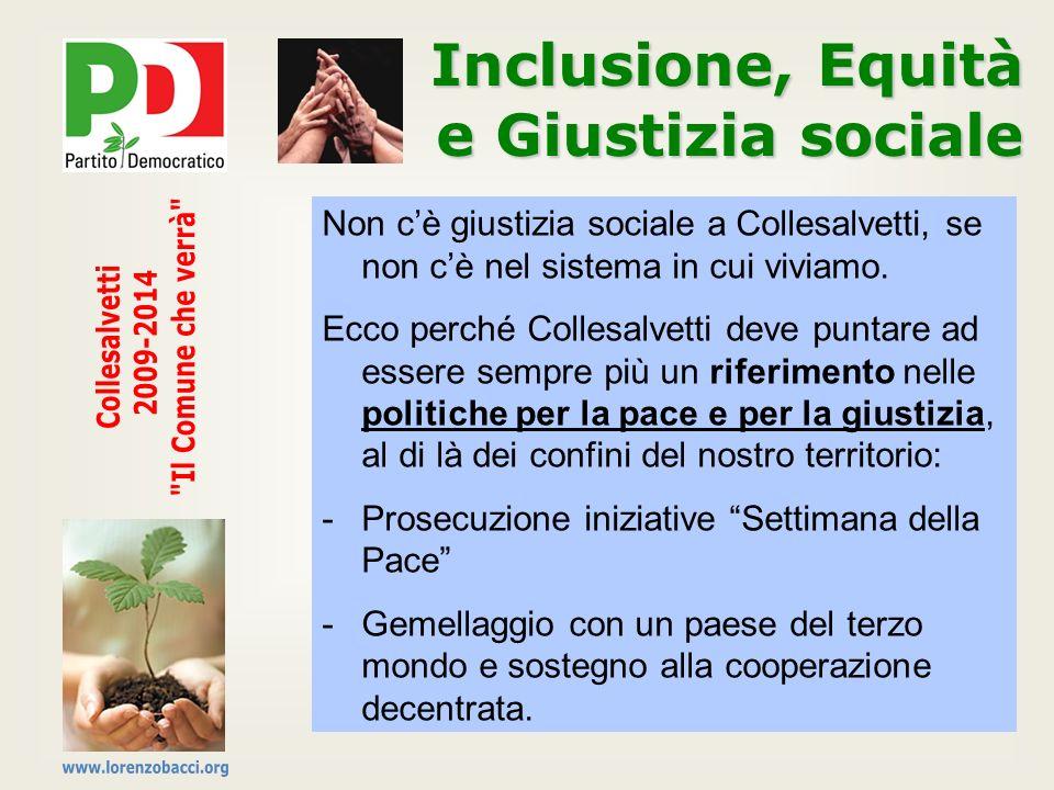 Inclusione, Equità e Giustizia sociale