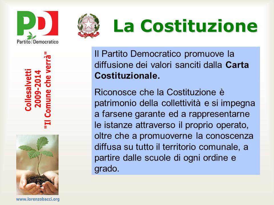 La Costituzione Il Comune che verrà Collesalvetti 2009-2014