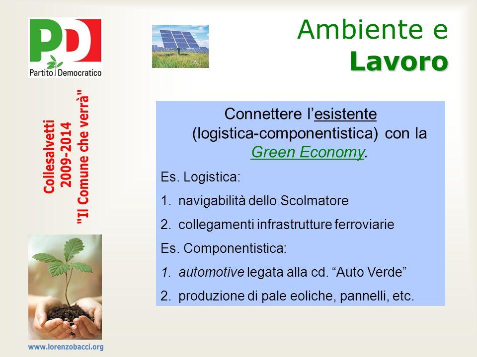 Ambiente e Lavoro Il Comune che verrà Collesalvetti 2009-2014