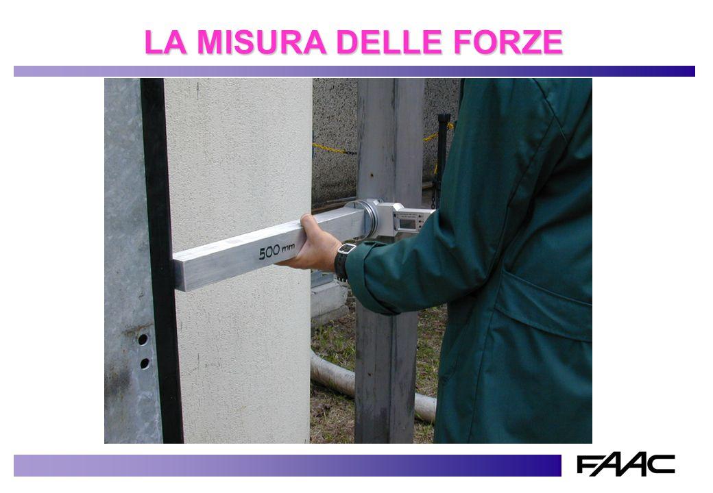 LA MISURA DELLE FORZE cancello scorrevole