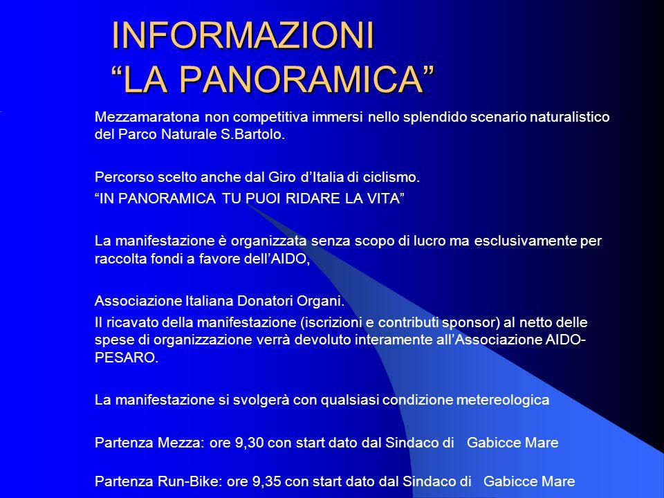 INFORMAZIONI LA PANORAMICA