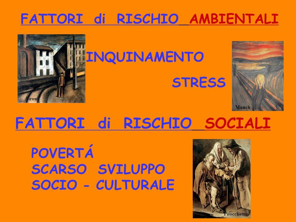 FATTORI di RISCHIO AMBIENTALI