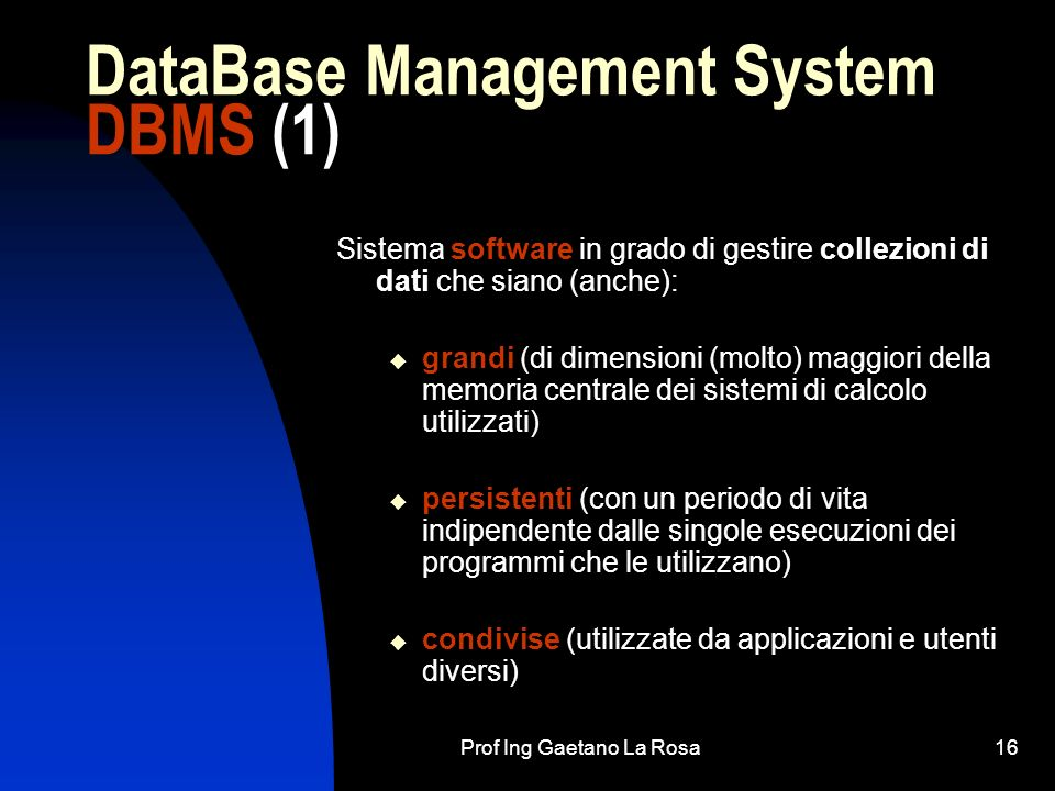DataBase Management System DBMS (1)