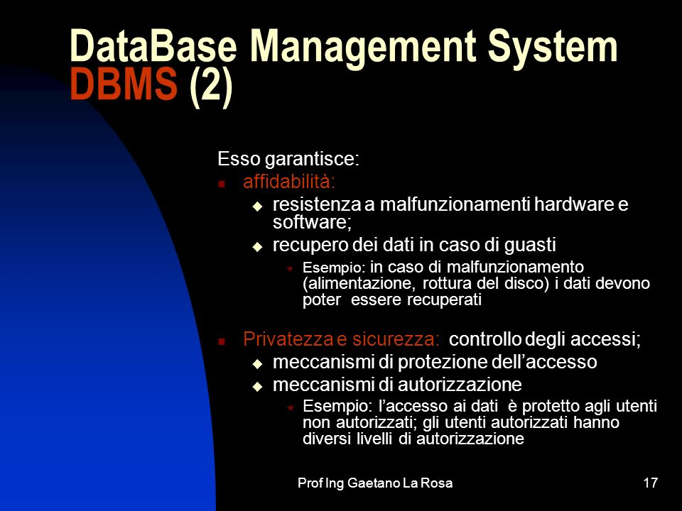 DataBase Management System DBMS (2)