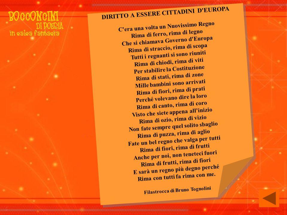 Filastrocca di Bruno Tognolini
