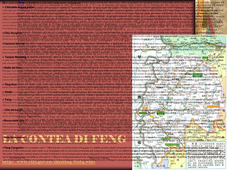 LA CONTEA DI FENG http://www.sxfx.gov.cn/xinxiang/fxztq.wmv