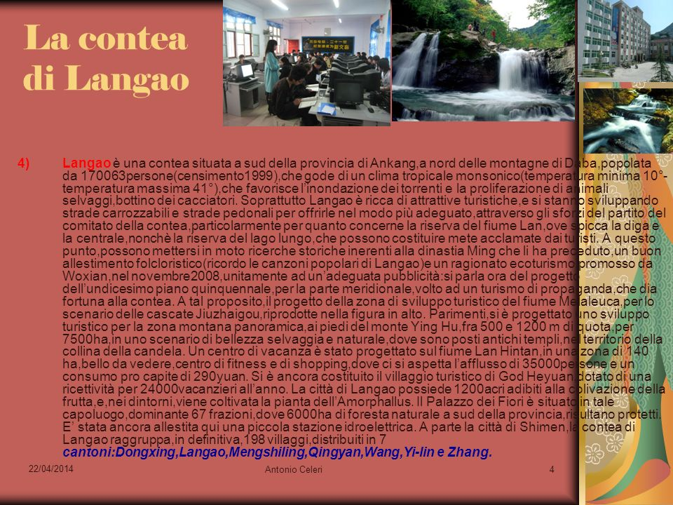 La contea di Langao
