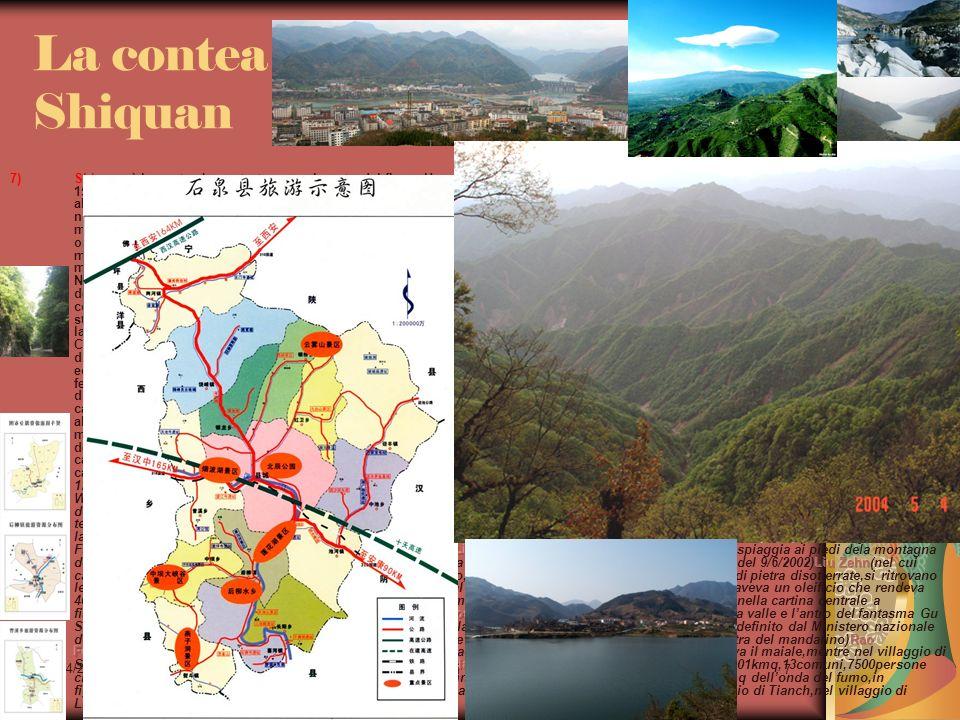 La contea Shiquan