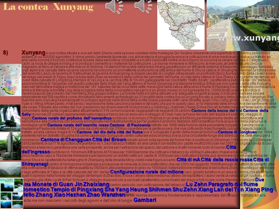 La contea Xunyang