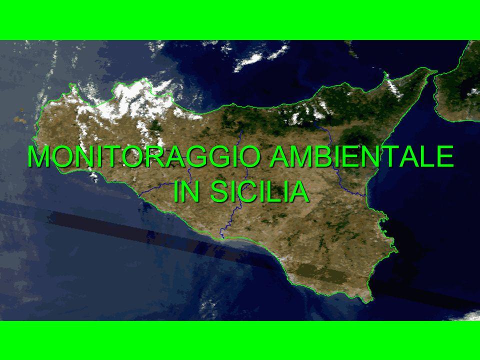MONITORAGGIO AMBIENTALE IN SICILIA
