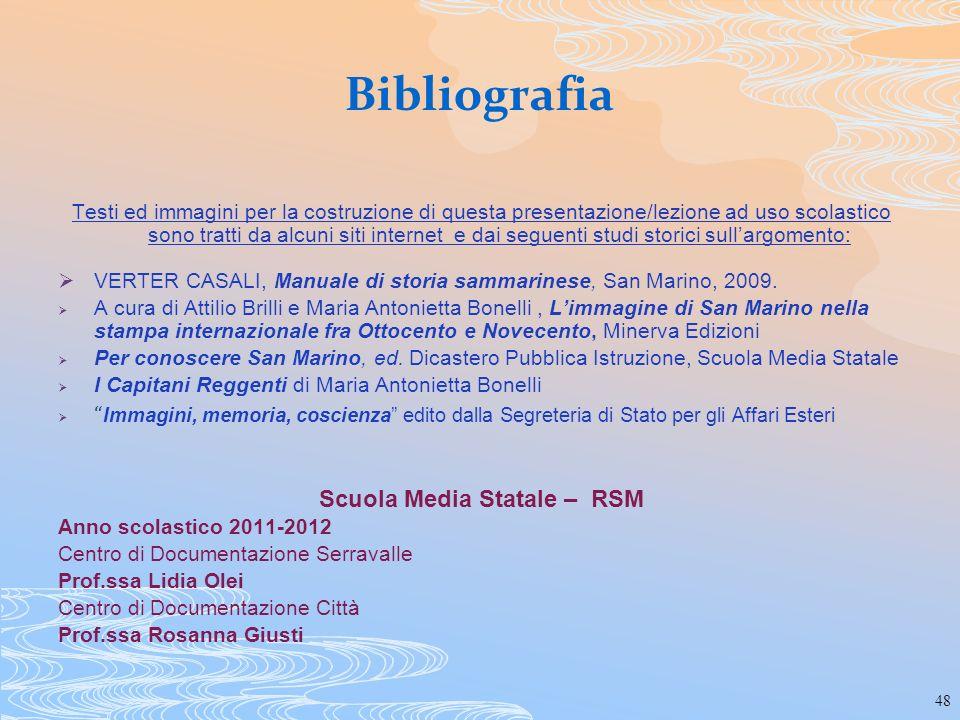 Scuola Media Statale – RSM