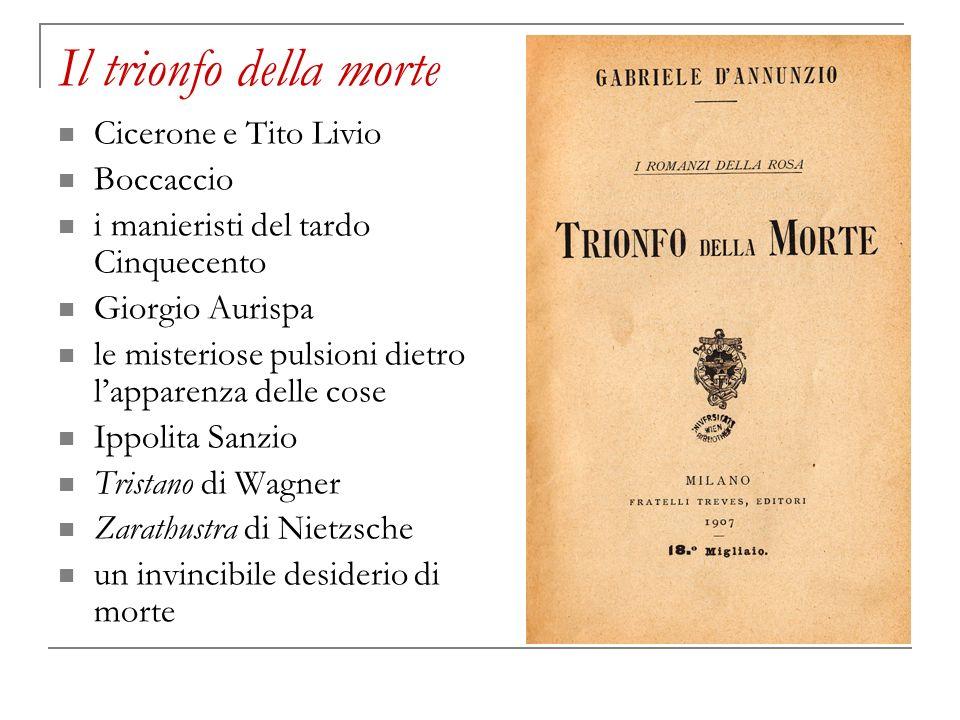 Il trionfo della morte Cicerone e Tito Livio Boccaccio