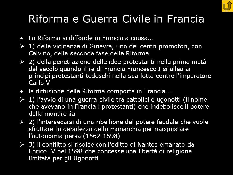 Riforma e Guerra Civile in Francia