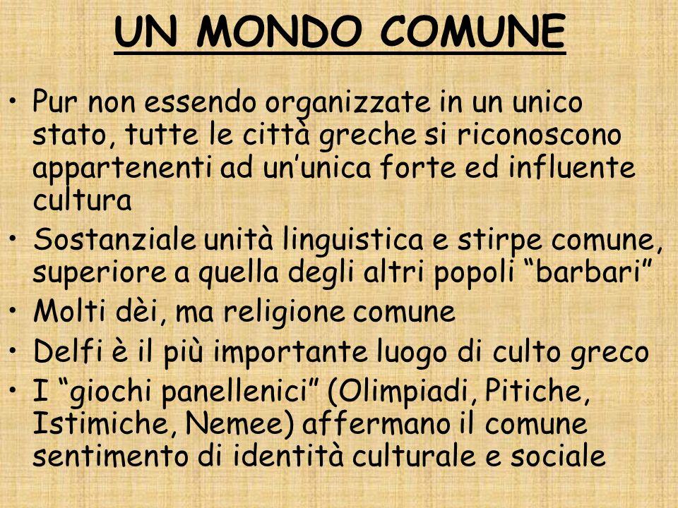 UN MONDO COMUNE