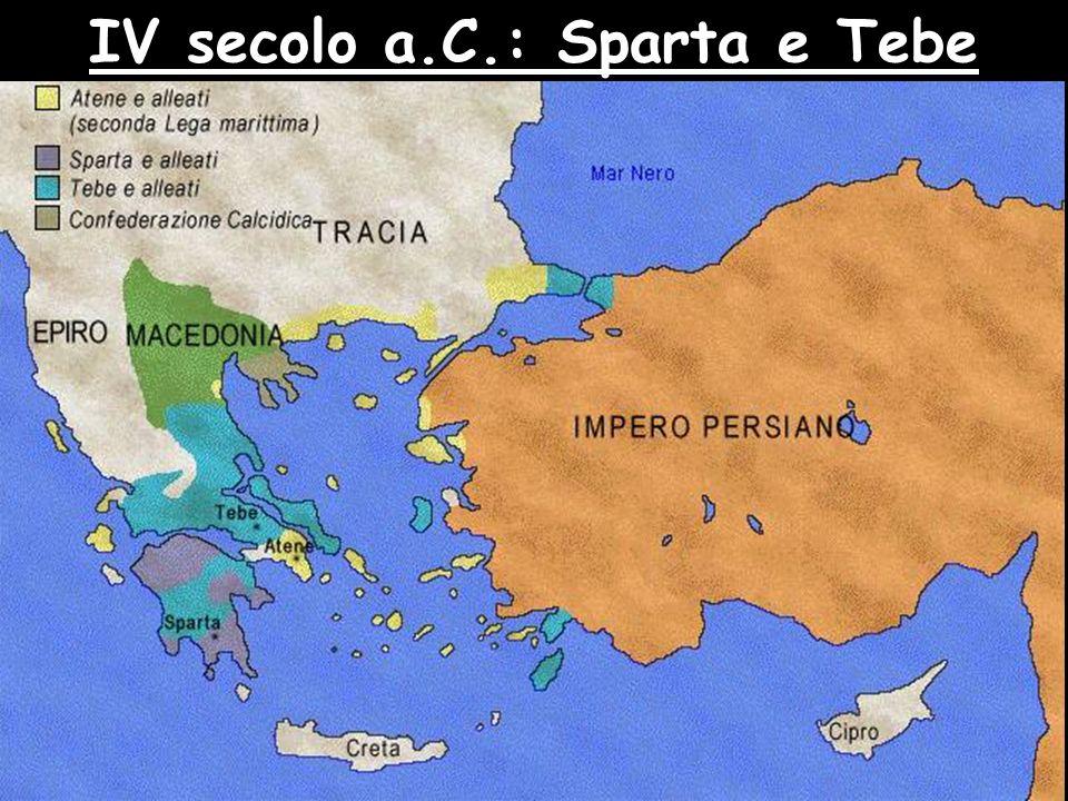 IV secolo a.C.: Sparta e Tebe