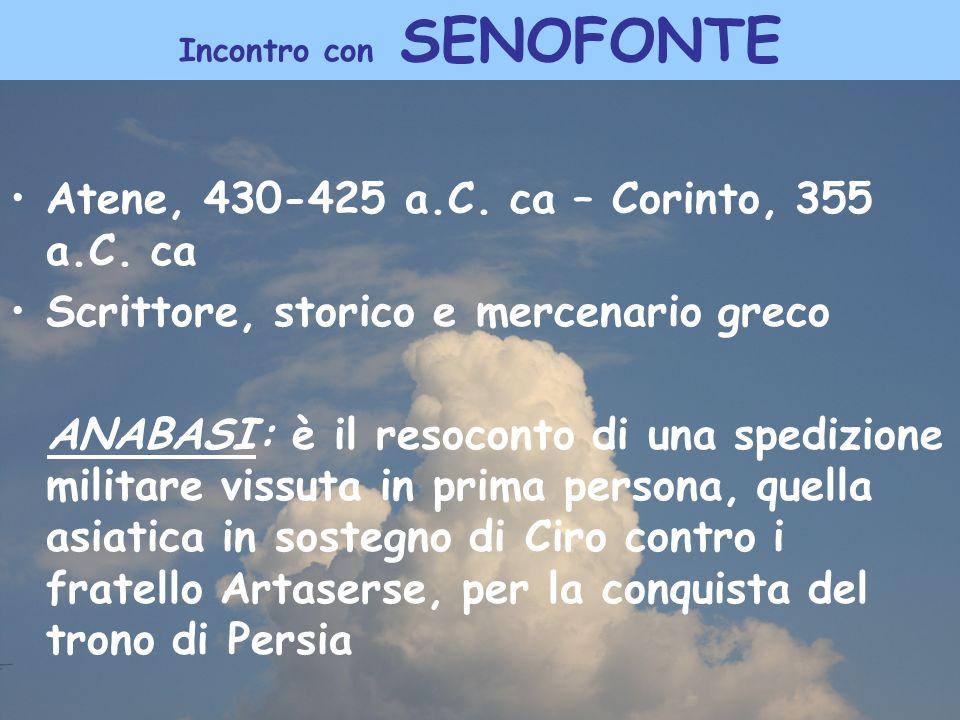 Incontro con SENOFONTE
