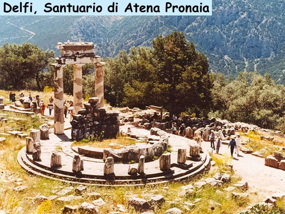 Delfi, Santuario di Atena Pronaia