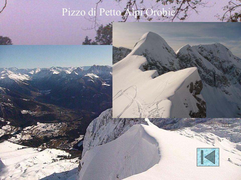 Pizzo di Petto Alpi Orobie