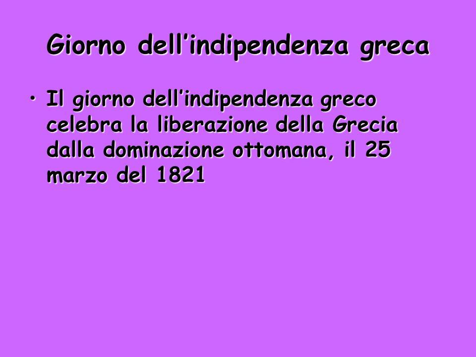 Giorno dell'indipendenza greca