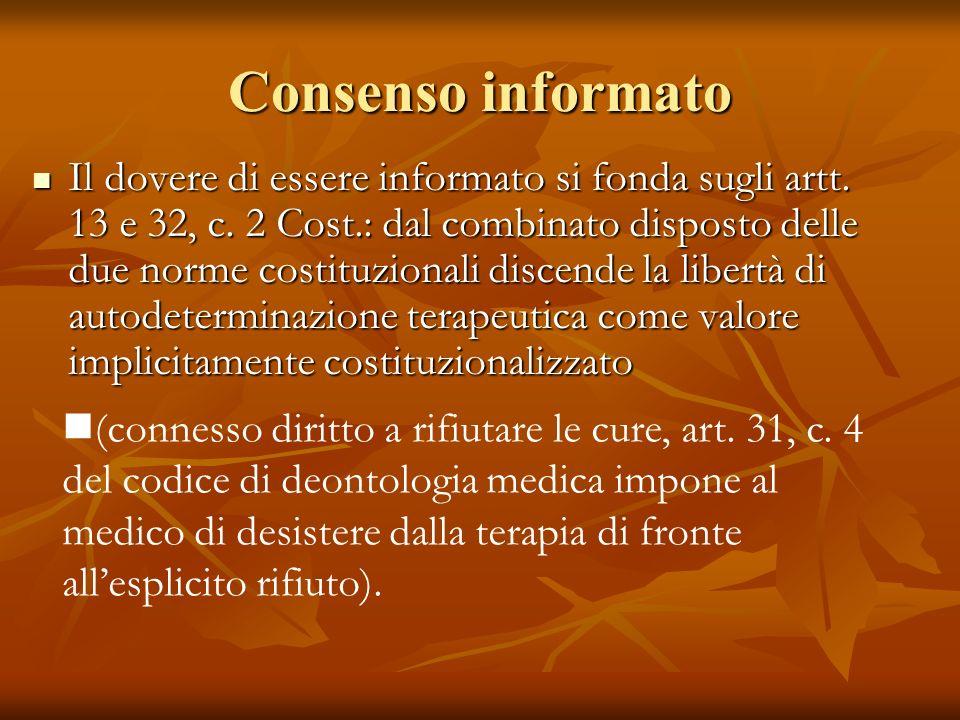 Consenso informato