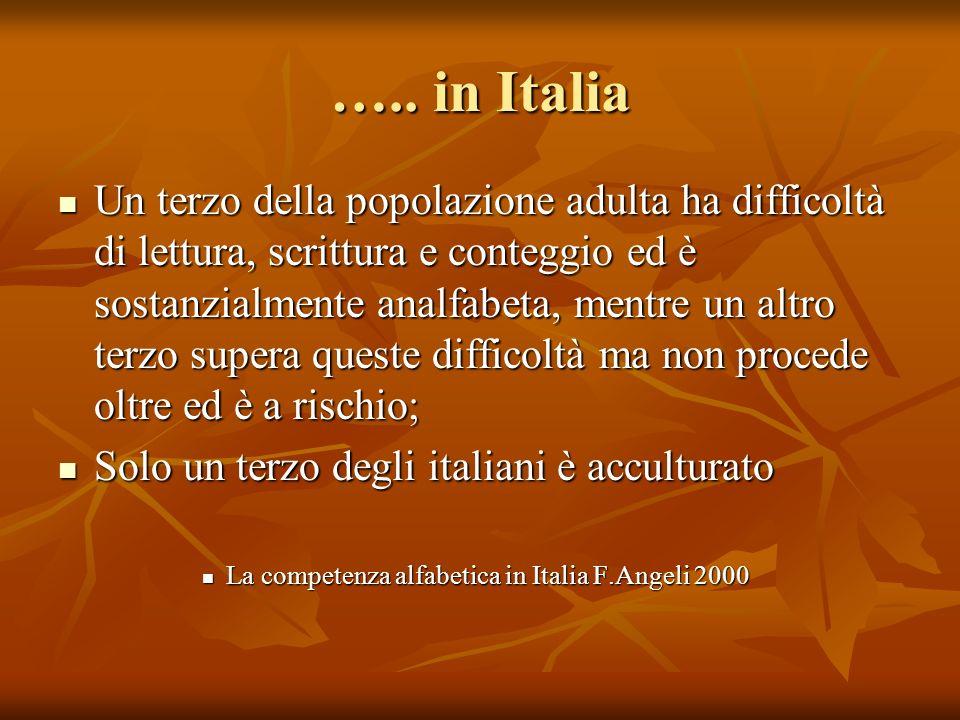 ….. in Italia