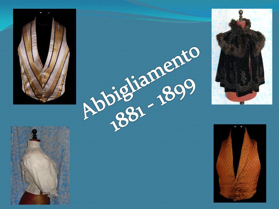 Abbigliamento 1881 - 1899