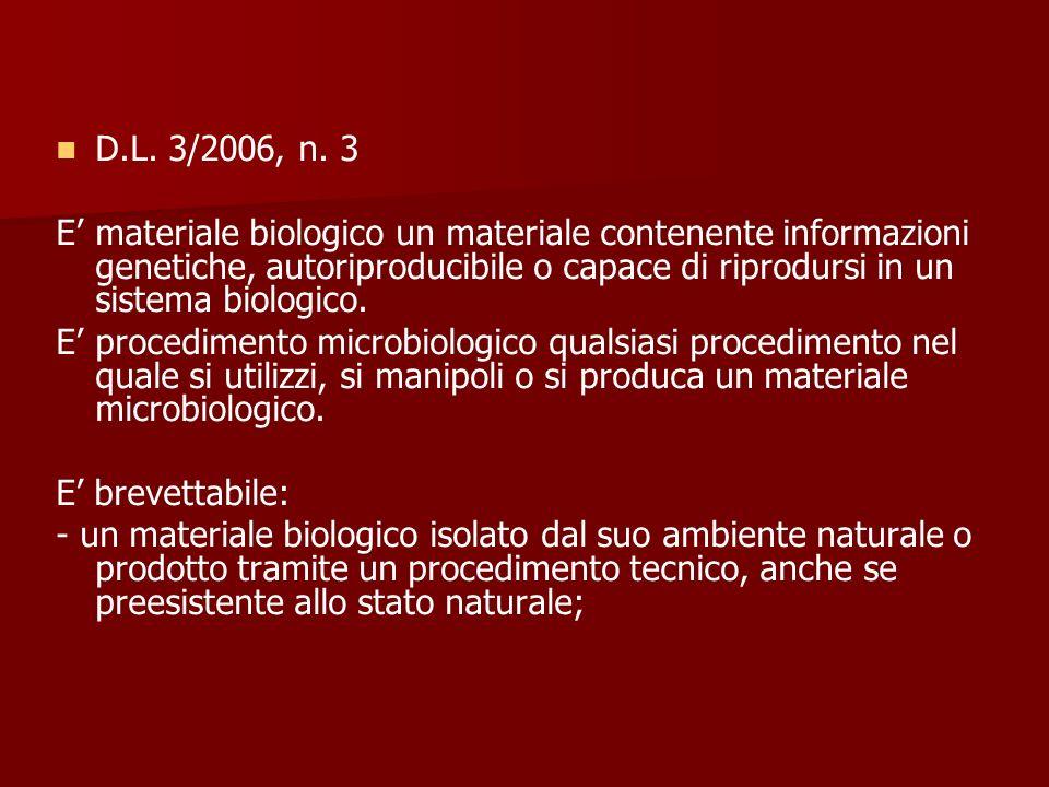 D.L. 3/2006, n. 3