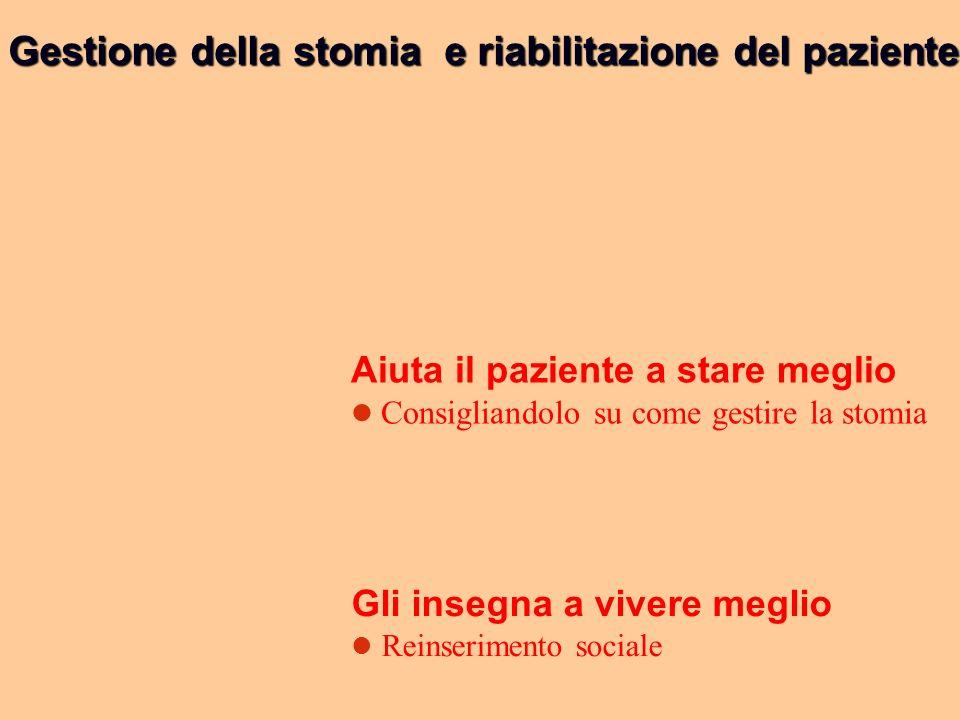 Gestione della stomia e riabilitazione del paziente