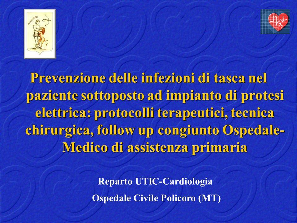 Reparto UTIC-Cardiologia Ospedale Civile Policoro (MT)