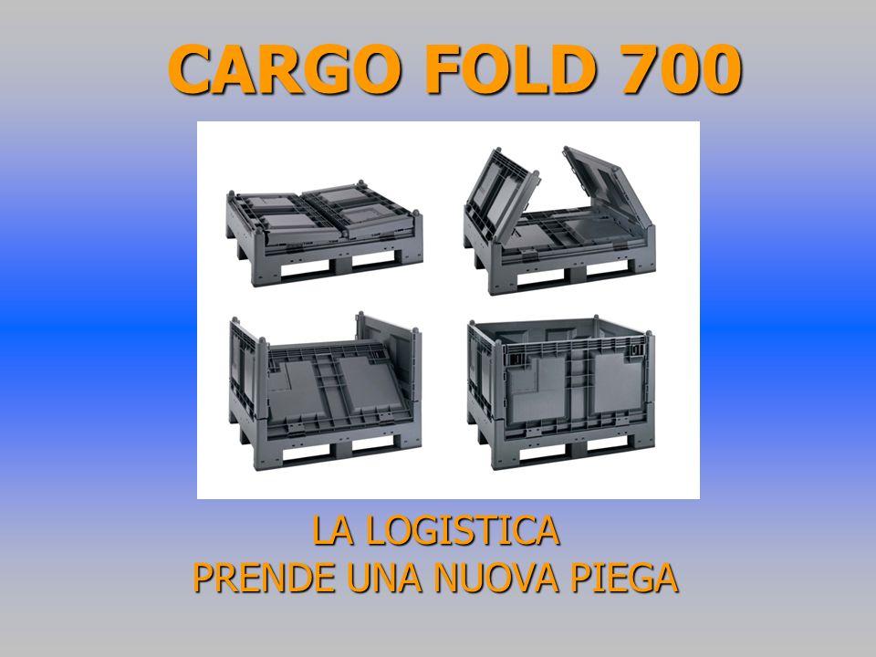 CARGO FOLD 700 LA LOGISTICA PRENDE UNA NUOVA PIEGA