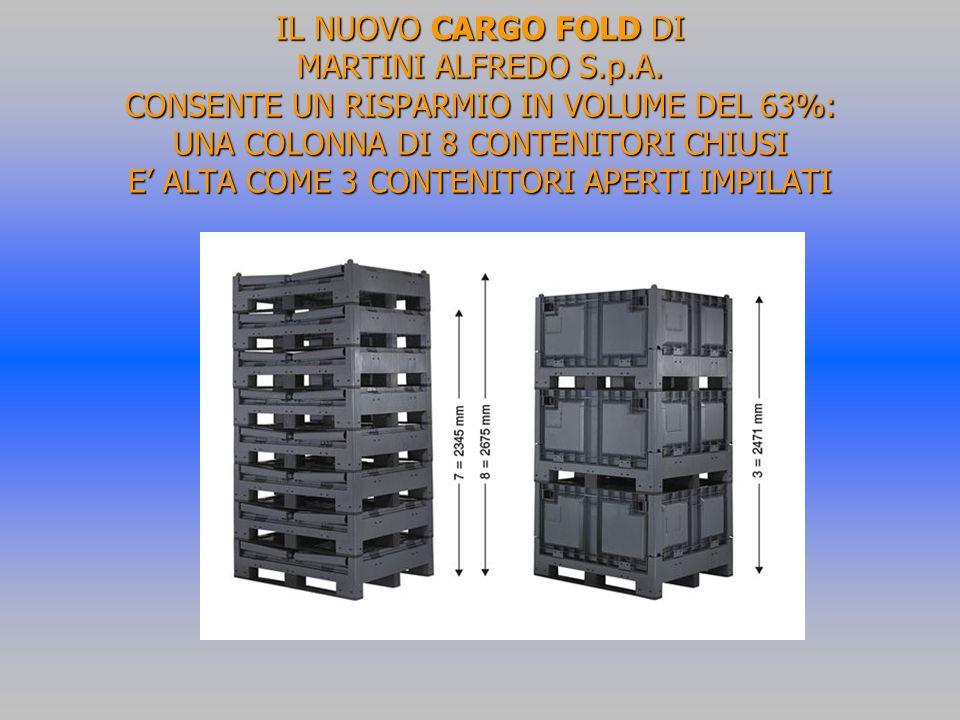 IL NUOVO CARGO FOLD DI MARTINI ALFREDO S. p. A