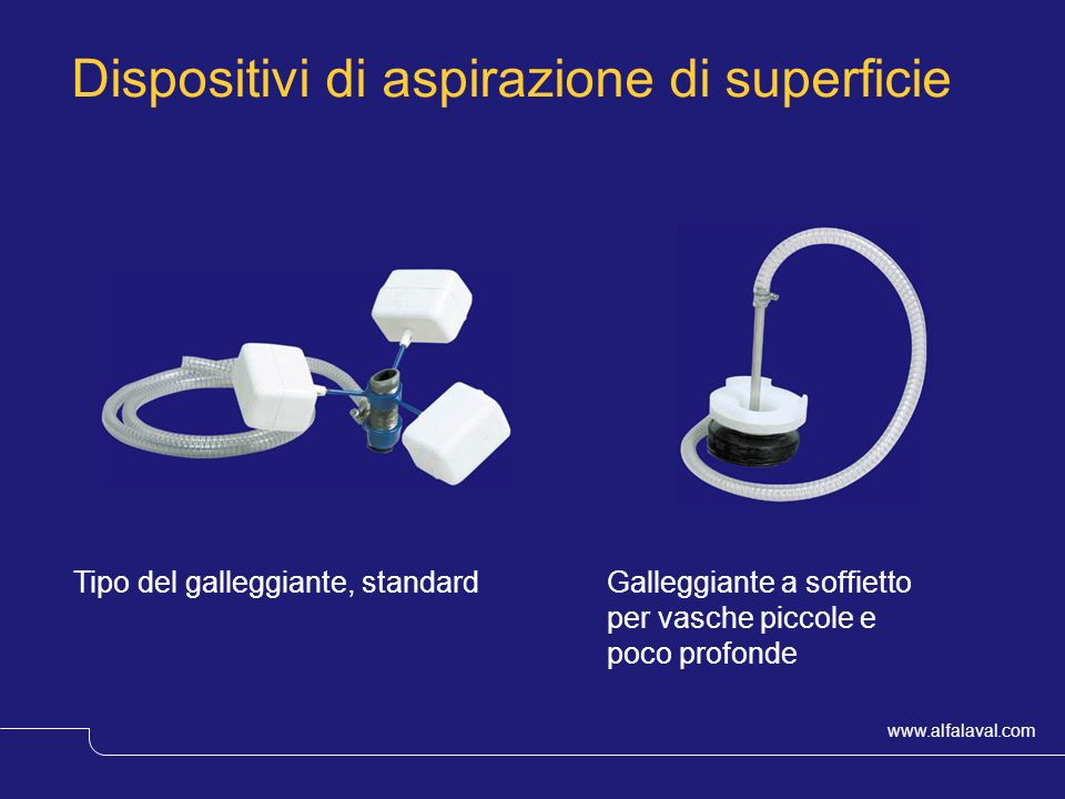 Dispositivi di aspirazione di superficie