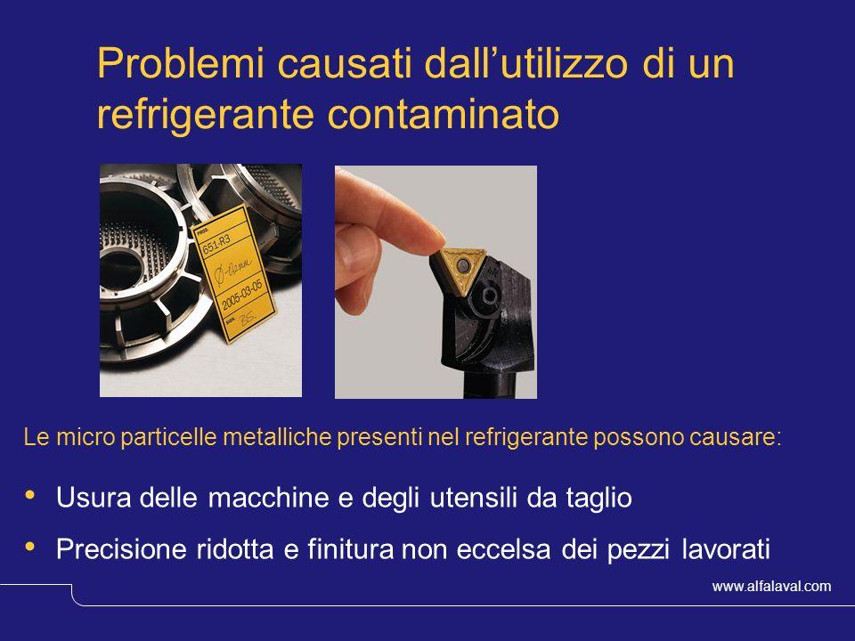 Problemi causati dall'utilizzo di un refrigerante contaminato