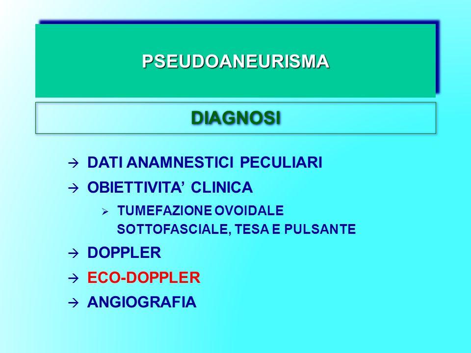 PSEUDOANEURISMA DIAGNOSI