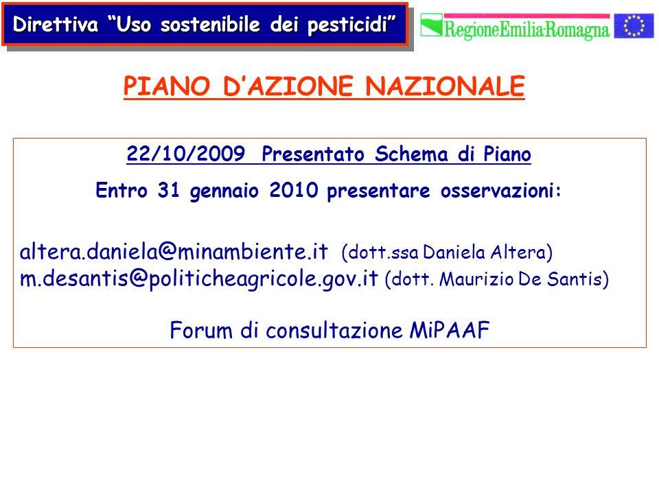 PIANO D'AZIONE NAZIONALE