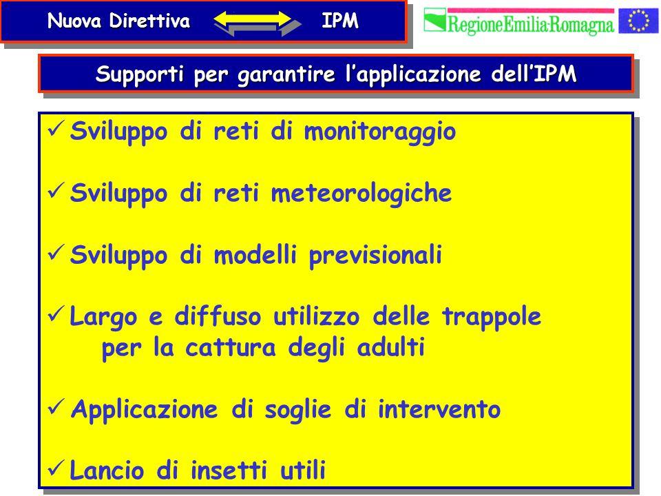 Supporti per garantire l'applicazione dell'IPM