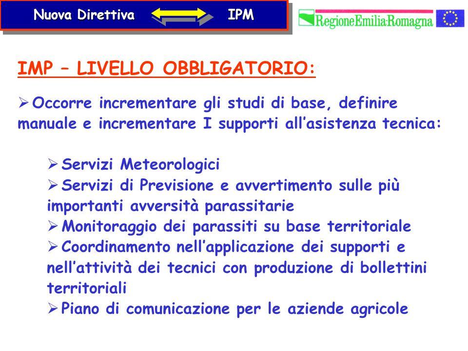 IMP – LIVELLO OBBLIGATORIO: