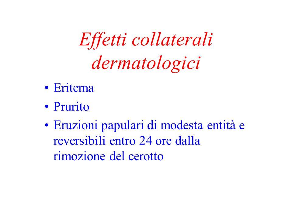 Effetti collaterali dermatologici