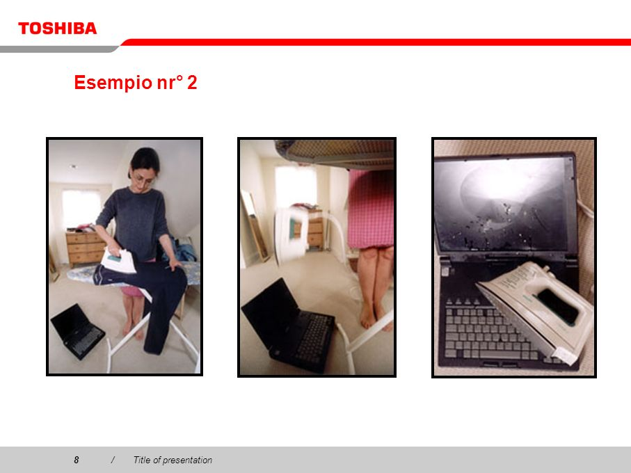 Esempio nr° 2 8 / Title of presentation