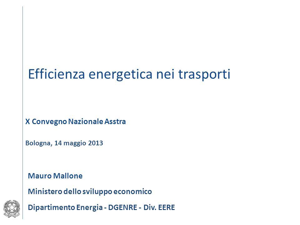 Efficienza energetica nei trasporti