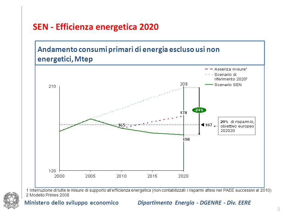 SEN - Efficienza energetica 2020