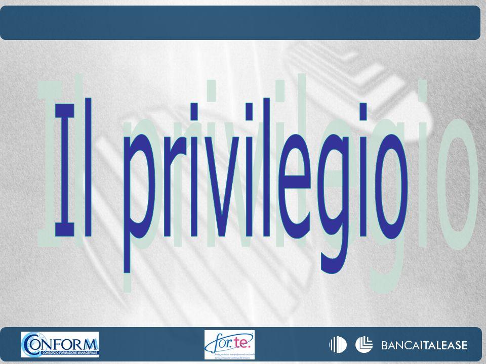 Il privilegio