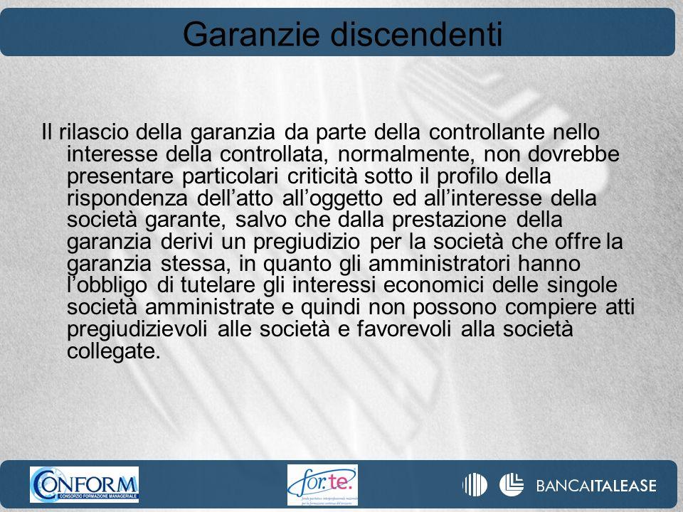 Garanzie discendenti