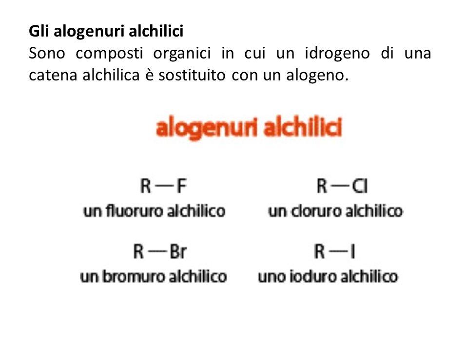 Gli alogenuri alchilici