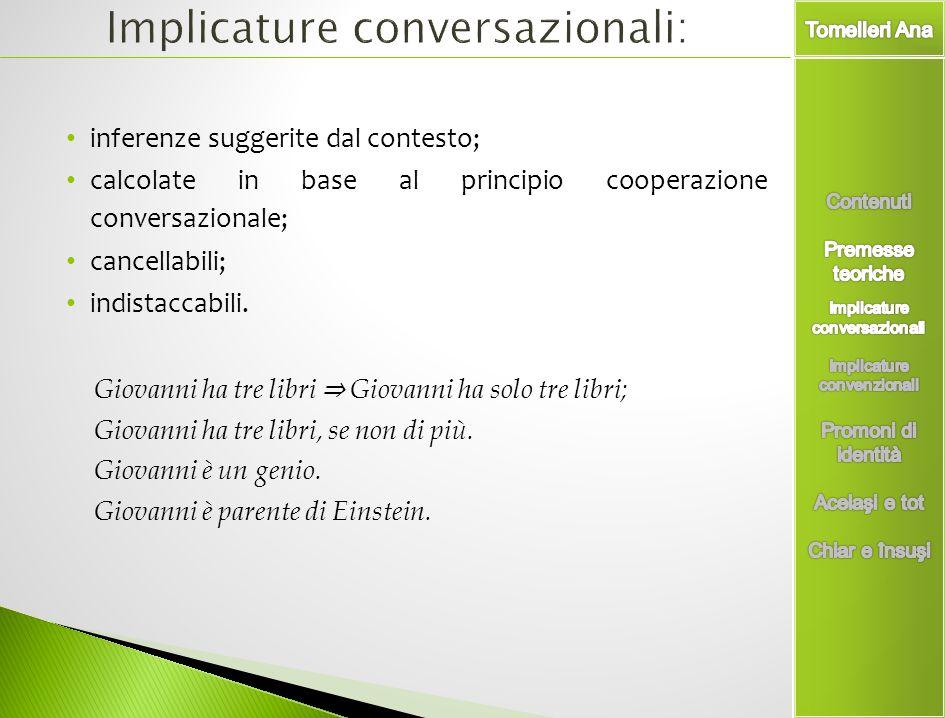 Implicature conversazionali: