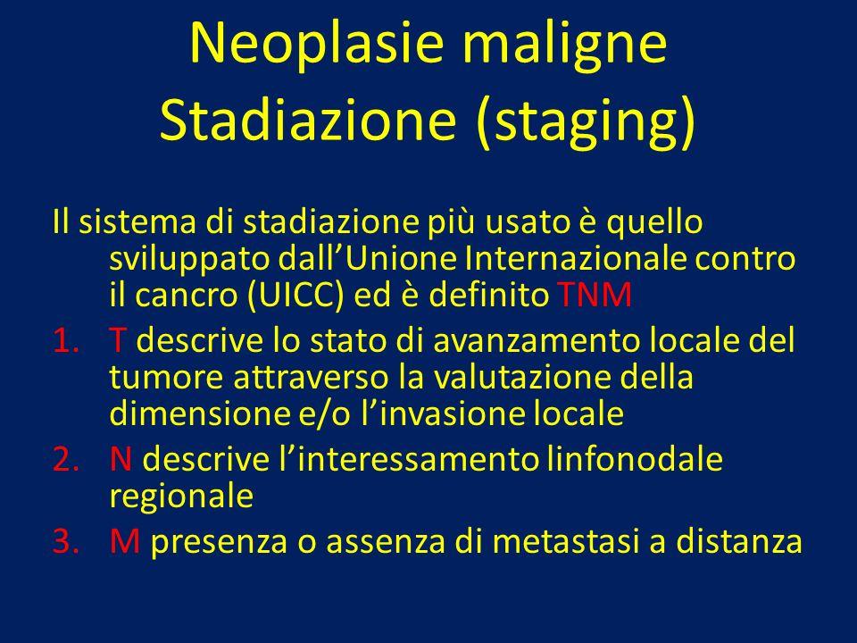 Neoplasie maligne Stadiazione (staging)