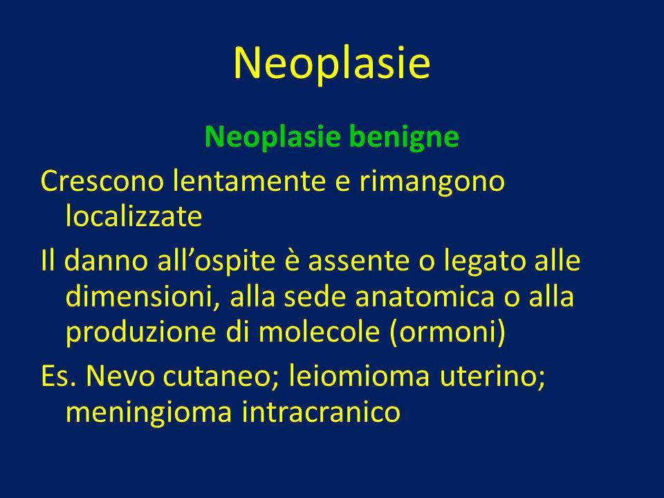 Neoplasie Neoplasie benigne